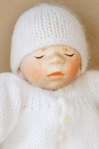 Pongratz Wood doll baby
