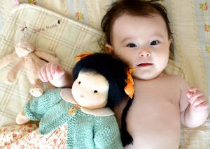 Sara's first doll